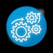icono de automatizacion y optimizacion de procesos en PTAR ,PTARI, PTAP y vertimientos para LP de Tree-a Enterprises SAS