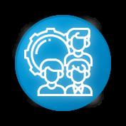icono sobre capacitacion y asesorias para el tratamiento de aguas para LP de Tree-a Enterprises SAS