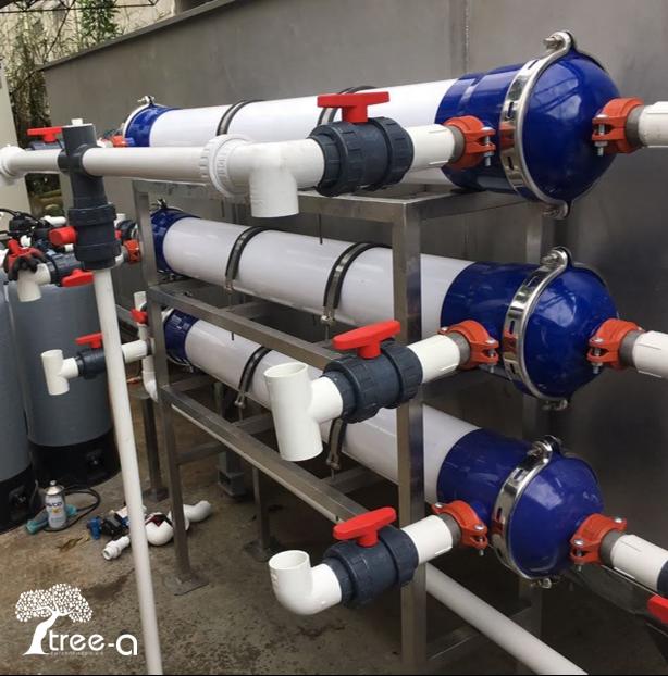 Imagen de Sistemas de filtración para Planta de tratamiento de agua potable