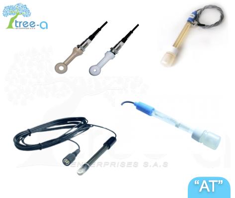 Electrodos, sensores y sondas de la linea Aqua Treatment de Tree-a Enterprises SAS