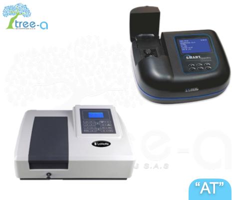 Espectrofotómetros de la linea Aqua Treatment de Tree-a Enterprises SAS