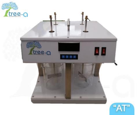 Test de jarras de la linea Aqua Treatment de Tree-a Enterprises SAS