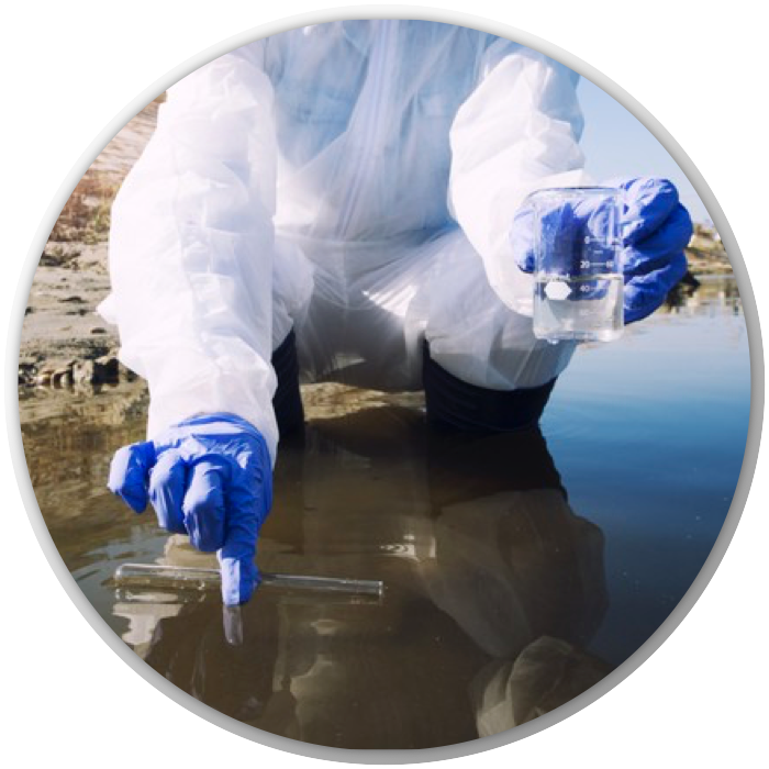 Icono de tratamiento de aguas residuales de la linea Aqua Treatment de Tree-a Enterprises SAS